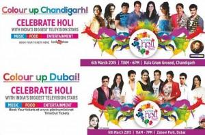 World Holi Celebrations with Shashi Sumeet Mittal at Dubai and Chandigarh