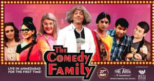 'The Comedy Family' Live Show Date and Venue | Droutinelife