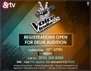 The Voice India Kids &Tv Singing Reality Show Wiki Audition, Judges, Contestant, Host, Timing