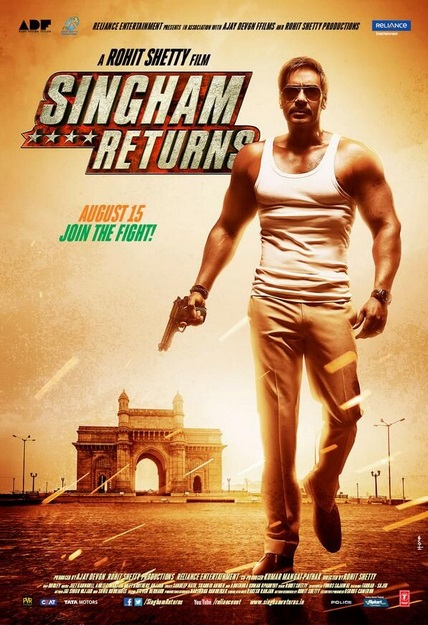 Singham Returns Theme Song Lyrics – Ajay Devgn