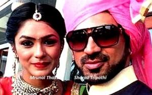 Mrunal Thakur and Sharad Tripathi | Nach Baliye 7 Contesants | Nach Baliye 2015 Contestants