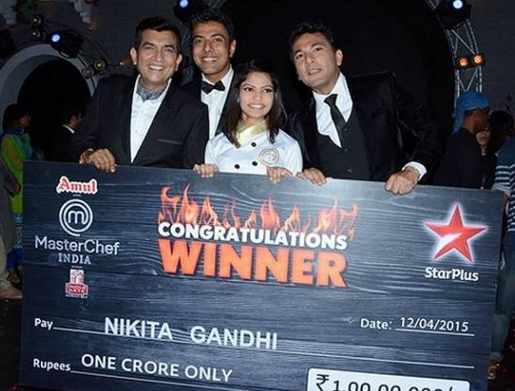 winner of MasterChef India 4 | Nikita Gandhi | Prize Money