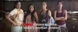 Amul TV Ad -'Aage aage badhta hai India, Amul doodh peeta hai India'   Droutinelife