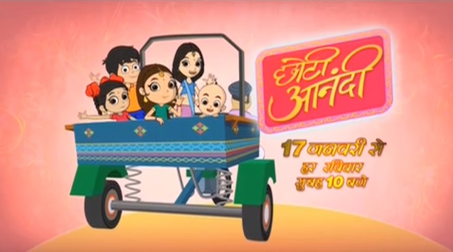 Chhoti Anandi Colors Animated TV Series Timing, Character, Repeat Telecast Time
