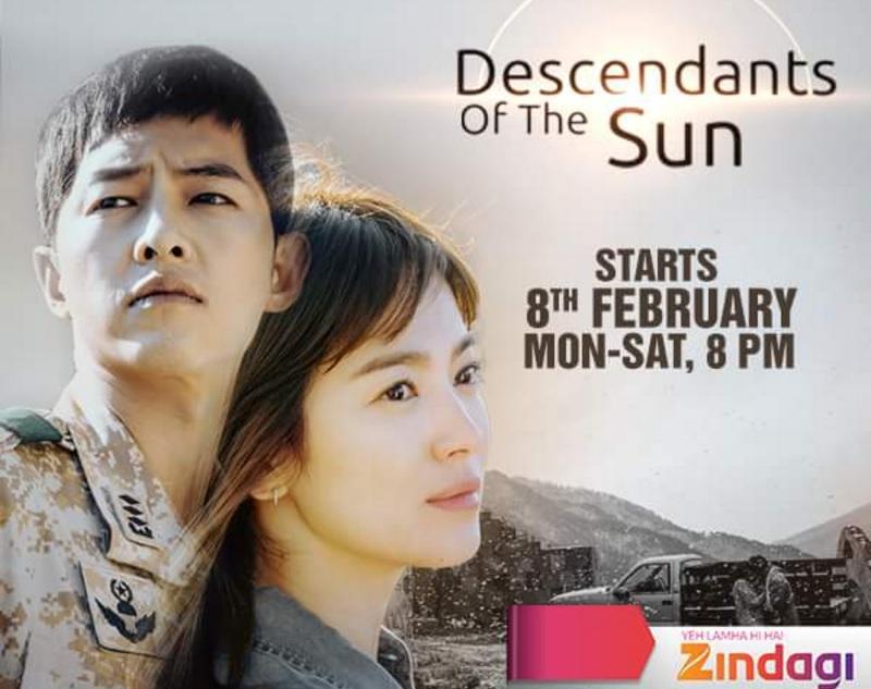 Descendants of the Sun Korean TV Serial Story | Zindagi TV | Wiki | cast | Images