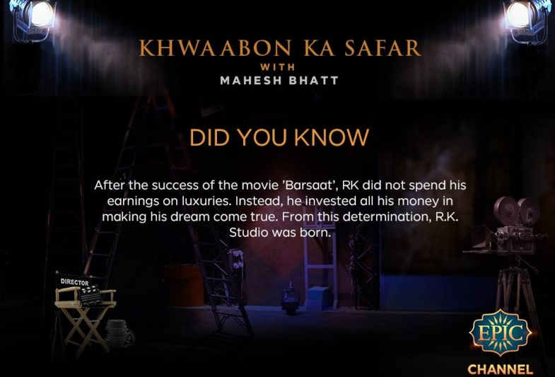 'Khwaabon Ka Safar with Mahesh Bhatt' Epic TV Show Wiki, Timing, Host
