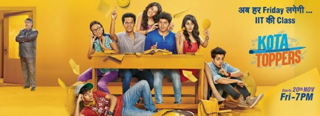 'Kota Toppers' Bindass Tv Show Wiki Story  Star Cast  Timing