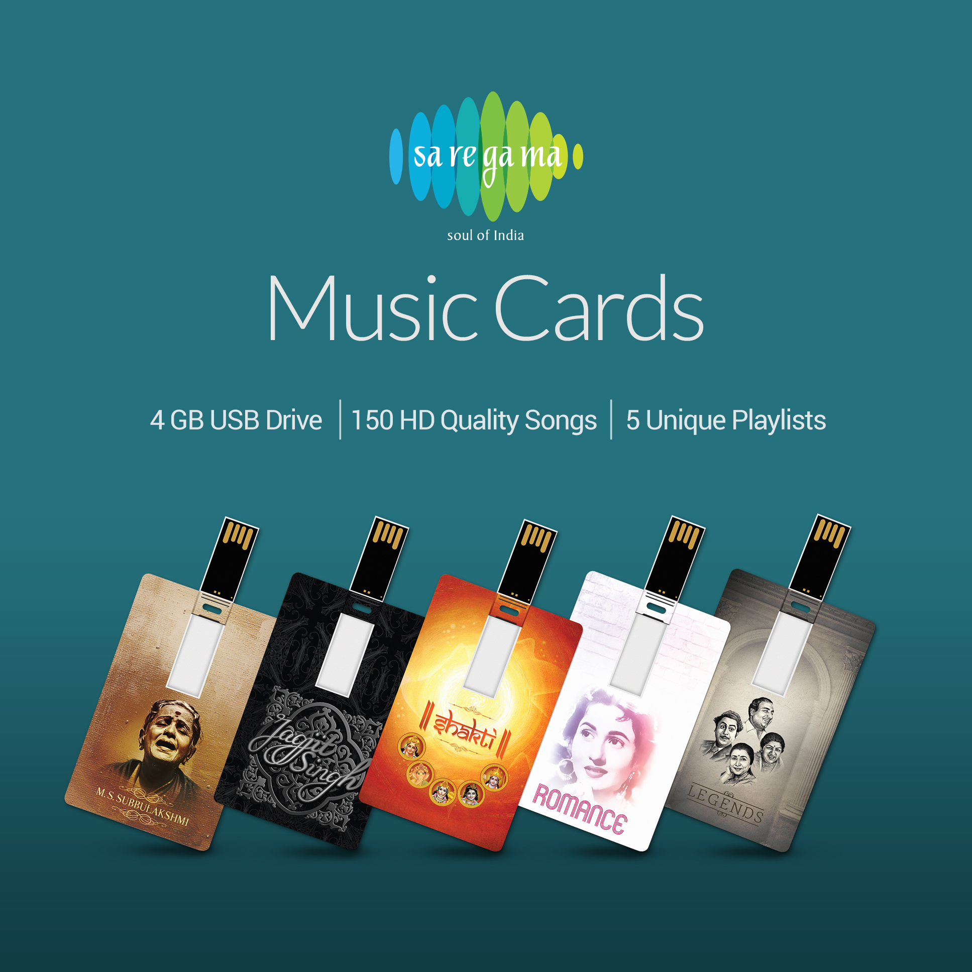 Saregama Launches MUSIC CARDS – The Perfect Gift For Your Loved Ones