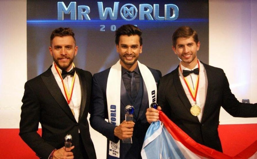 """Rohit Khandelwal"" becomes First Indian Mr. World 2016"