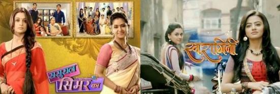 Sasural Simar Ka and Sawaragini maha episode
