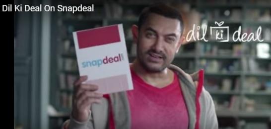 Snapdeal 'Sale-O-Shayri' ad 'Yeh Diwali Dil ki Deal Wali' Aamir Khan