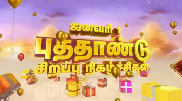 Sun TV New Year 2016 Special Programs Schedule