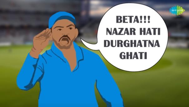 Virat Kohli & Steve Smith T20 Match Controversy