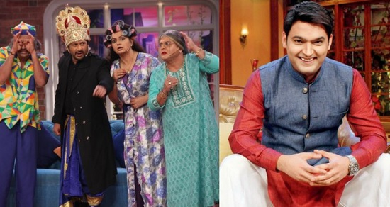 Kapil Sharma back on the set of Comedy Nights with Kapil